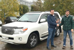 Toyota Land Cruiser 200 2014 г.в., Diesel