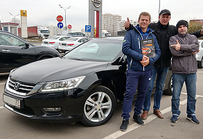 HONDA Accord 2.4 A 2013 г.в., 93000км пробег