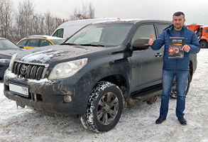 Toyota Land Cruiser Prado 150, 3 литра, Diesel, 2011 г.в., 39 000 км пробег