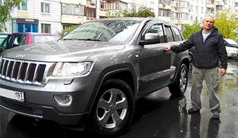 Jeep Grand Cherokee Limited 2011 г. 3.6А