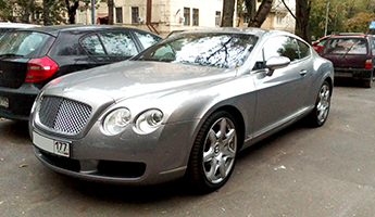 Bentley Continental GT 2005 г.в.
