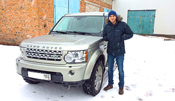 Land Rover Discovery 4 HSE 2012 год
